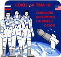 Soyuz TMA-18 International Space Station Mission Decal